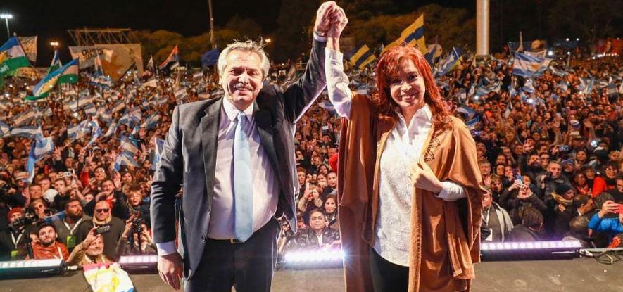 Alberto Fernández - Cristina Fernández e Kirchner